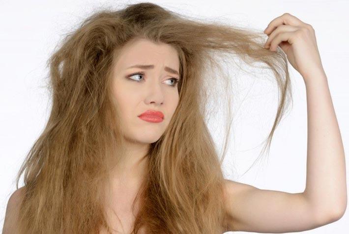 Risultati immagini per capelli secchi