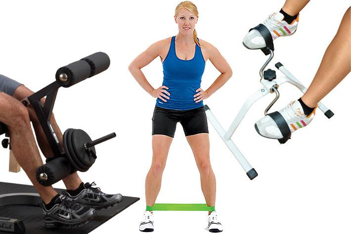 Attrezzi fitness per allenare gambe e glutei in casa - Attrezzi per imbiancare casa ...
