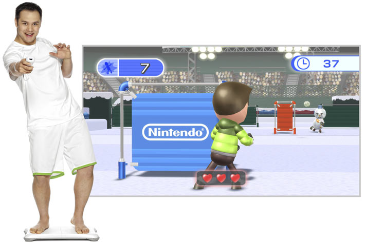 Wii Fit Plus con Balance Board Vs Kinect Sports