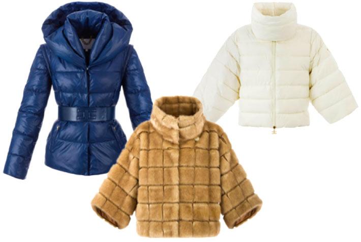 premium selection e57d6 53142 Elisabetta Franchi Autunno Inverno 2015-2016 Piumini e ...