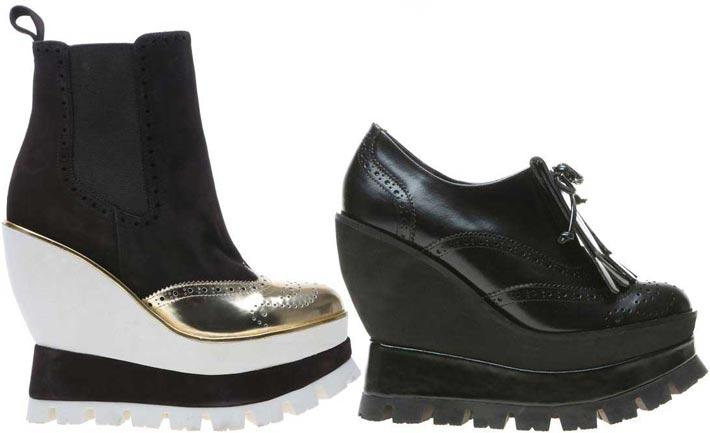 stivaletti scarpe e scarpe