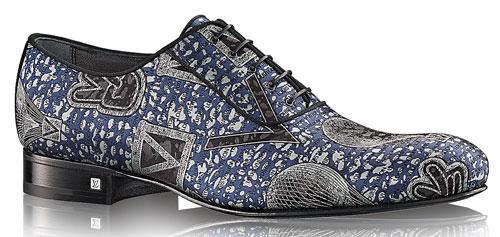 Scarpe Louis Vuitton Uomo Rosse