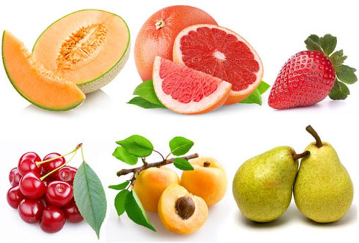 Frutta del mese di maggio propriet e benefici - Contorno di immagini di frutta ...