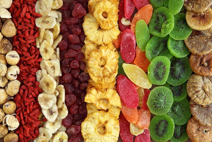 La frutta essiccata fa bene o fa male - Contorno di immagini di frutta ...