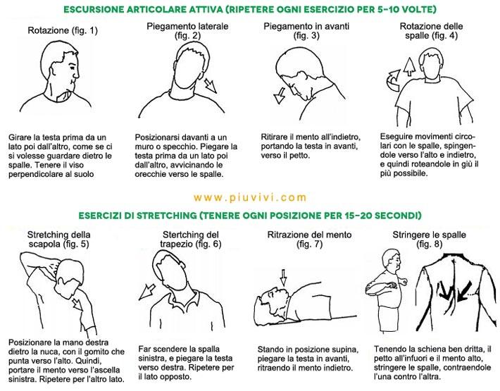 Famoso Rilassare il collo e le spalle: esercizi e prevenzione RI52
