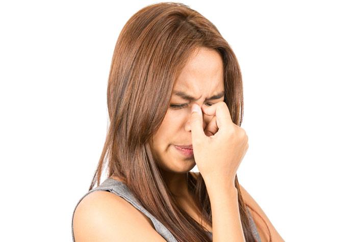 Bruciore al naso e starnuti possibili cause for Interno del naso
