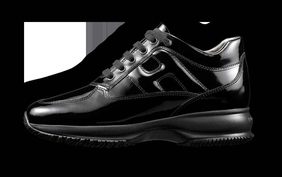 scarpe hogan donna interactive nere