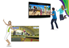 Nintendo Wii Fit con Balance Board vs. Kinect Sports