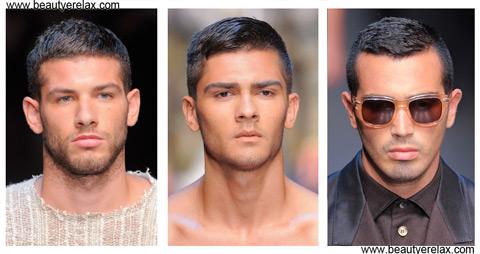 acconciature capelli uomo estate 2014 Dolce E Gabbana