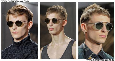 tagli capelli uomo primavera estate 2014 Dries Van noten