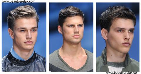 tagli capelli uomo estate 2014 Ermanno Scervino