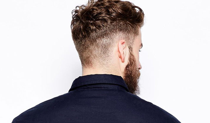 Taglio capelli corti uomo dietro