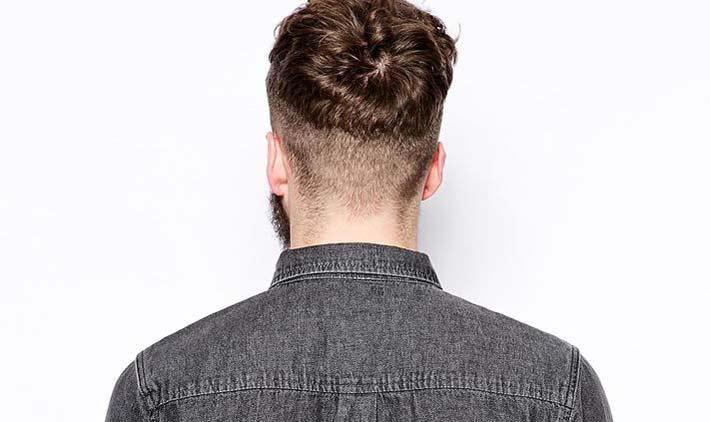 Come tagliare capelli dietro uomo