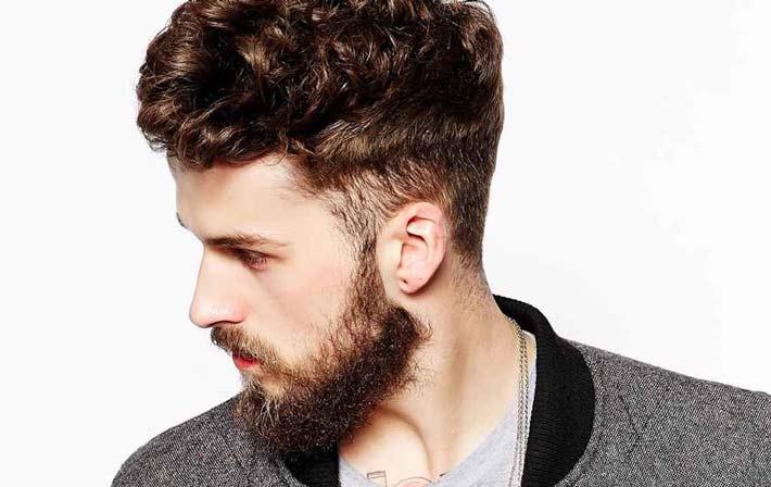 Taglio di capelli da lunghi a corti uomo