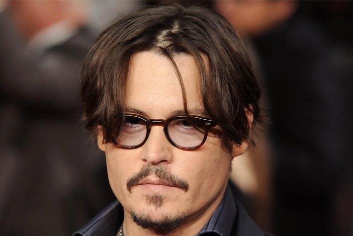 Famoso Taglio Capelli Lunghi Uomo Stempiato – Johnny Depp – Più Vivi SZ42