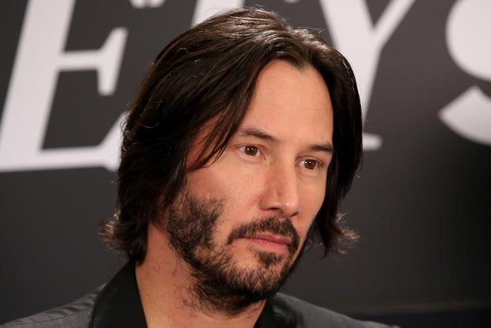 Estremamente Taglio Capelli Medio-Lunghi Uomo Stempiato – Keanu Reeves – Più Vivi YA29