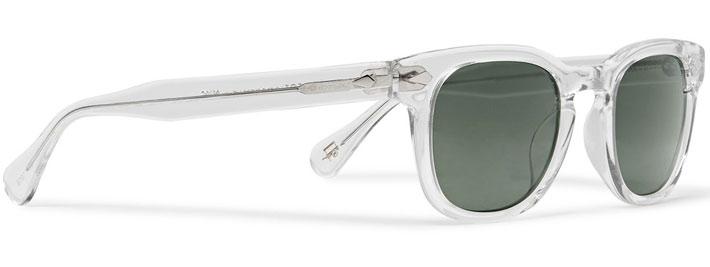 occhiali-sole-uomo-modello-wayfarer-moscot-montatura-trasparente-lato