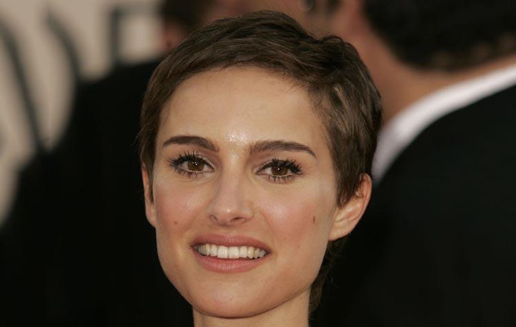 Taglio di capelli da donna cortissimo di Natalie Portman