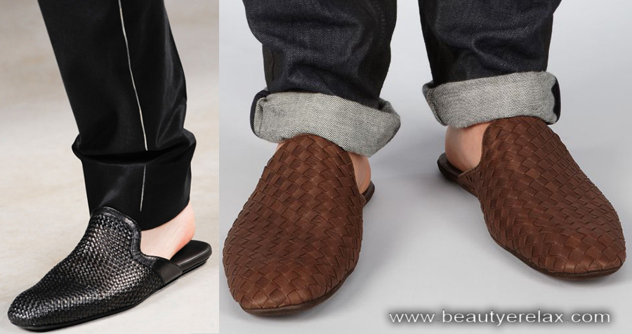 scarpe slipper uomo estate 2014 Bottega Veneta
