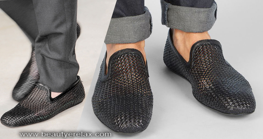 scarpe slipper outdoor uomo estate 2014 Bottega Veneta