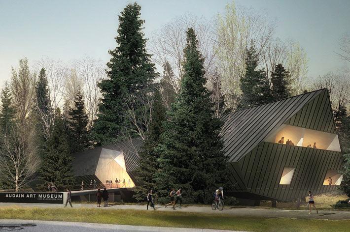 Audain Art Museum, Columbia Britannica, Canada- Nuovi Musei Più Belli Del Mondo
