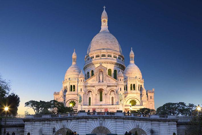 Basilica del Sacro Cuore di Parigi - Luoghi Religiosi Più Visitati d'Europa