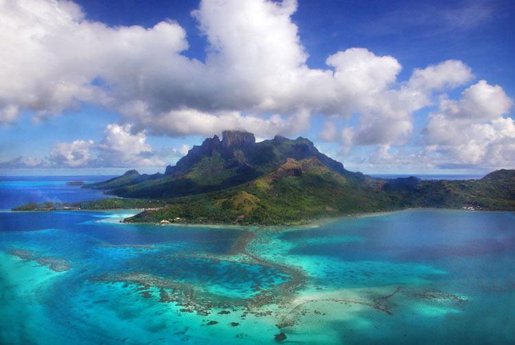 Bora Bora, Isole della Societa - Isole più belle del mondo