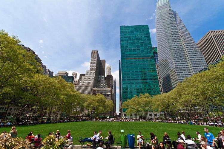 Bryant Park, Manhattan - Parchi Urbani Più Famosi Di NYC, Stati Uniti d'America