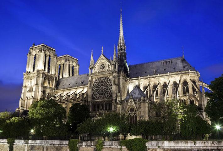 Cattedrale di Notre-Dame di Parigi - Luoghi Sacri Più Visitati d'Europa
