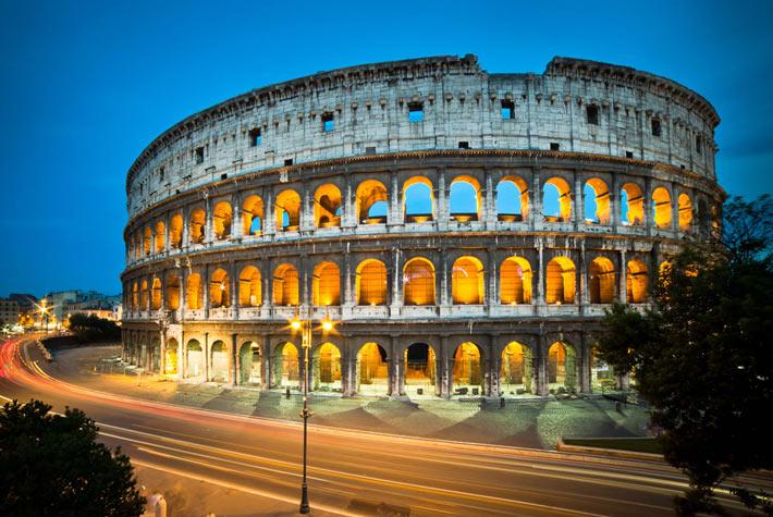 Colosseo, Roma - Siti Storici Più Visitati d'Europa