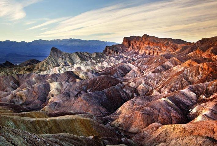 Death Valley, Zabriskie Point - Luoghi Più Estremi Del Pianeta Terra
