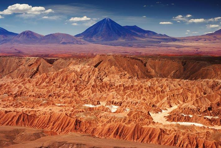 Deserto di Atacama, Perù e Cile - Luoghi Più Estremi Aridi Al Mondo