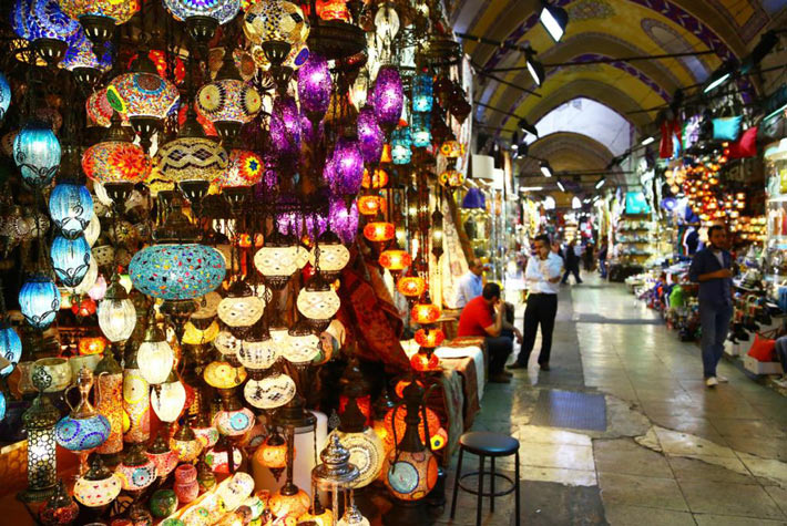 Grande Bazar D'Istanbul - Posti Turistici Più Visitati D'Europa