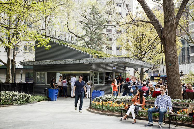 Madison Square Park, Shake Shack, Manhattan - Parchi Più Famosi Di NYC, USA
