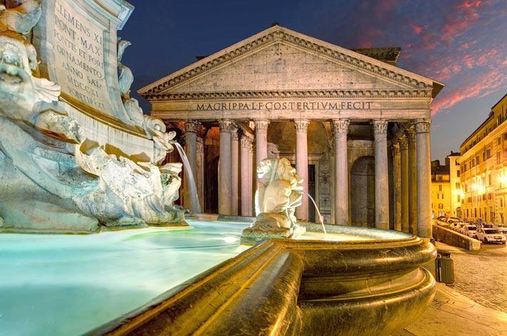 Pantheon, Roma - Luoghi Storico-Culturali Più Visitati d'Europa