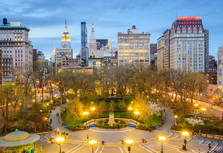 Union Square Park, Manhattan, NYC